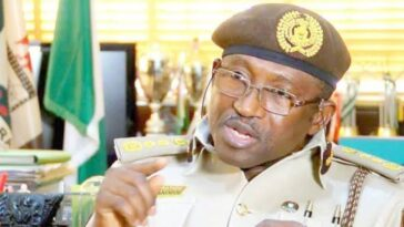 """Nigeria May Impose Visa Restriction On Americans"" - Immigration Boss, Mohammed Babandede 10"
