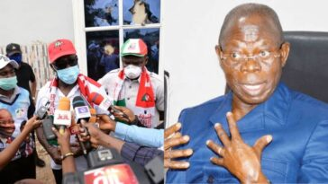 "Edo Election: ""Oshiomhole Brought In Assassins To Kill Commissioner For Youths"" - Governor Obaseki 4"