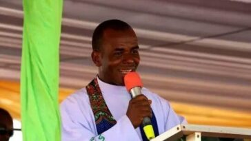 """Nigeria Go 'Gaga' Every Time I Prophecies And They Start Planning Evil Against Me"" - Fr. Mbaka 3"