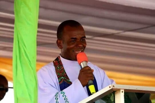 """""""Nigeria Go 'Gaga' Every Time I Prophecies And They Start Planning Evil Against Me"""" - Fr. Mbaka 1"""