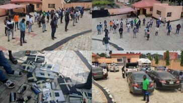 EFCC Arrests 3 NYSC Corp Members, 19 Undergraduates, 10 Others For Internet Fraud In Ibadan 6