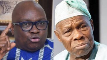 Fayose Vows To Send Obasanjo Back To Prison When He Becomes President Of Nigeria 6