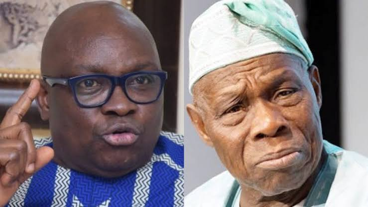 Fayose Vows To Send Obasanjo Back To Prison When He Becomes President Of Nigeria 1