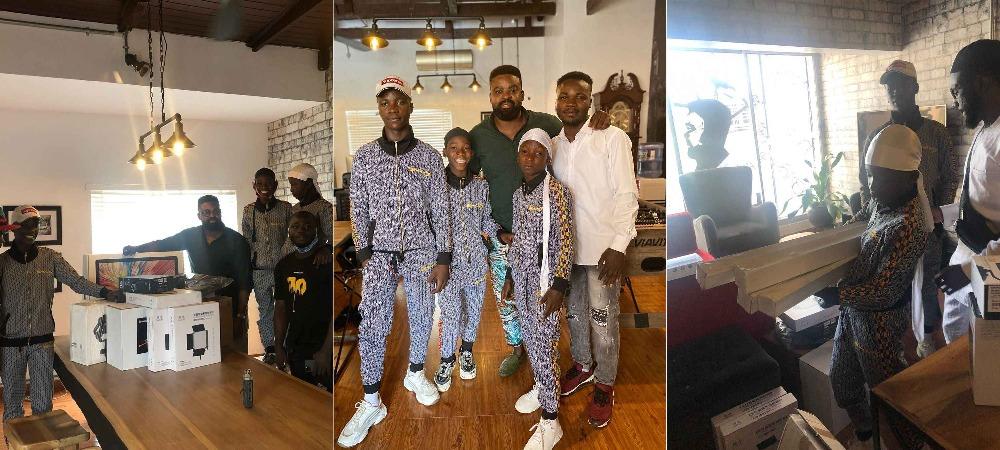 Netflix Surprises Ikorodu Bois With Filming Equipment Worth Millions Of Naira [Photos/Video] 1