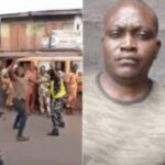 Dismissed Soldier Caught On Camera Publicly Beating Up Policewoman In Lagos Traffic [Video] 27