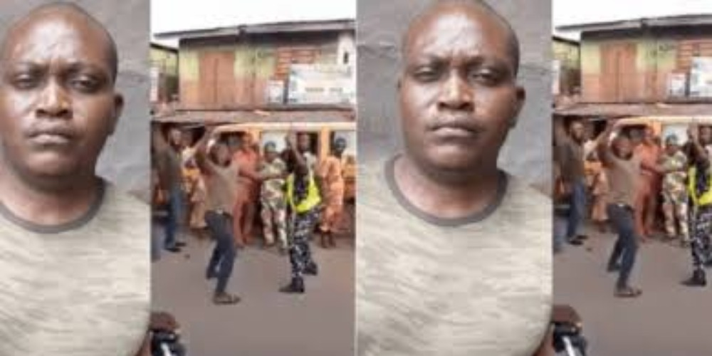 Dismissed Soldier Caught On Camera Publicly Beating Up Policewoman In Lagos Traffic [Video] 1