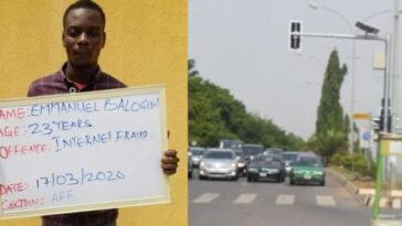 Court Orders Internet Fraudster, Kolade Balogun To Control Traffic For Three Months In Kwara 3