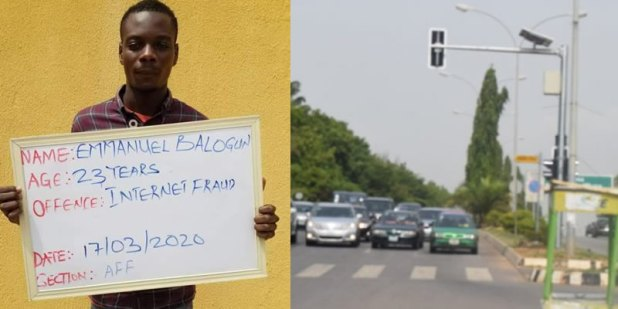 Court Orders Internet Fraudster, Kolade Balogun To Control Traffic For Three Months In Kwara 1