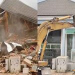 Enugu Government Demolishes House Of Man Who Pulled Down Airport Fence [Photos] 28