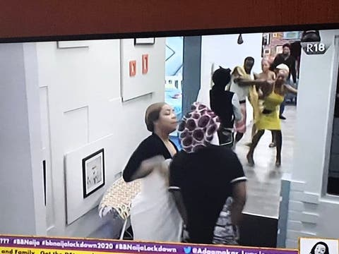 BBNaija: Kaisha And Nengi Almost Exchanged Blows During Fight [Video] 2