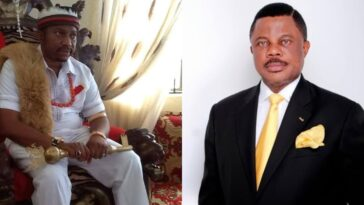 Suspended Anambra Monarch Begs Governor Obiano For Forgiveness Over Visit To President Buhari 8