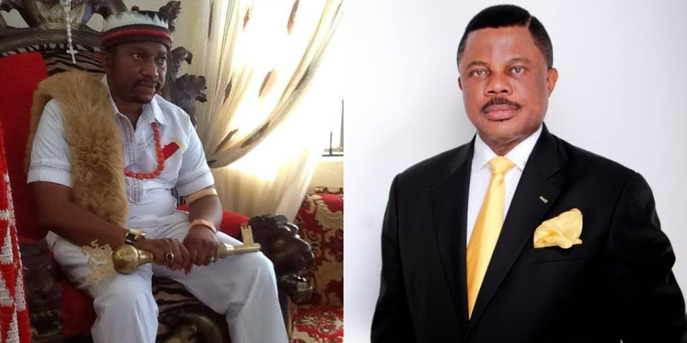 Suspended Anambra Monarch Begs Governor Obiano For Forgiveness Over Visit To President Buhari 1