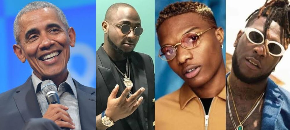 Barack Obama Shares His Favourite Summer Songs Featuring Wizkid, Davido And Burna Boy 1