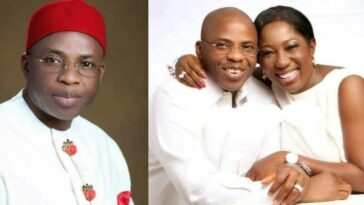 Imo Ex-Governor, Ikedi Ohakim Engages In Messy Fight With His Mistress, Chinyere Amuchienwa 5