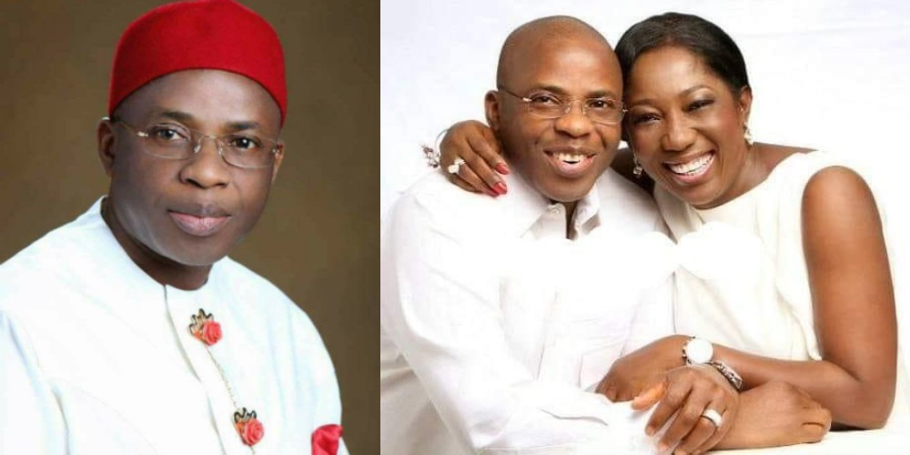 Imo Ex-Governor, Ikedi Ohakim Engages In Messy Fight With His Mistress, Chinyere Amuchienwa 1