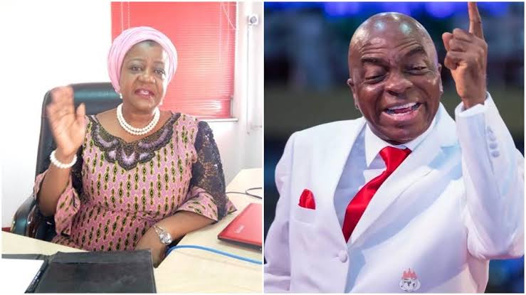"""""""Insulting Me Is A Waste Of Time"""" - Bishop Oyedepo Replies Buhari's Aide, Lauretta Onochie 1"""