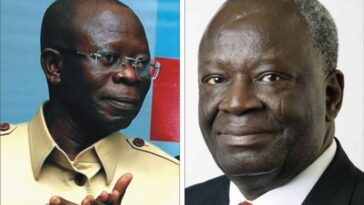 Edo Election: PDP, Presidency Disagree Over Leaked Video Of Oshiomhole And Gambari Plotting Arrest 6