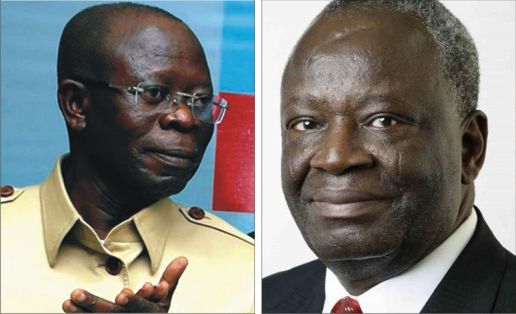 Edo Election: PDP, Presidency Disagree Over Leaked Video Of Oshiomhole And Gambari Plotting Arrest 1