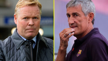 Barcelona Announces Ronald Koeman As Their New Manager After Sacking Quique Setien 2