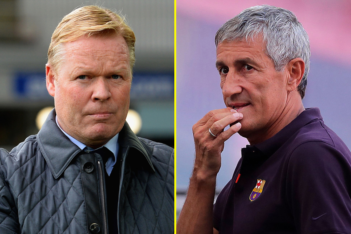 Barcelona Announces Ronald Koeman As Their New Manager After Sacking Quique Setien 1