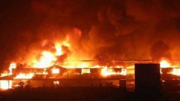 Ooni of Ife's palace on fire - Breaking News 5