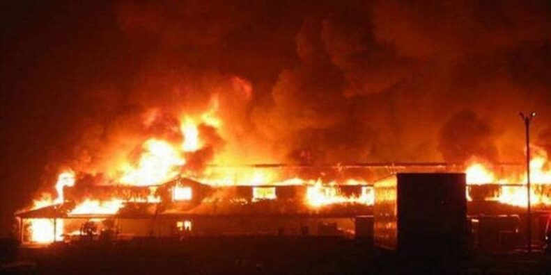 Ooni of Ife's palace on fire - Breaking News 1