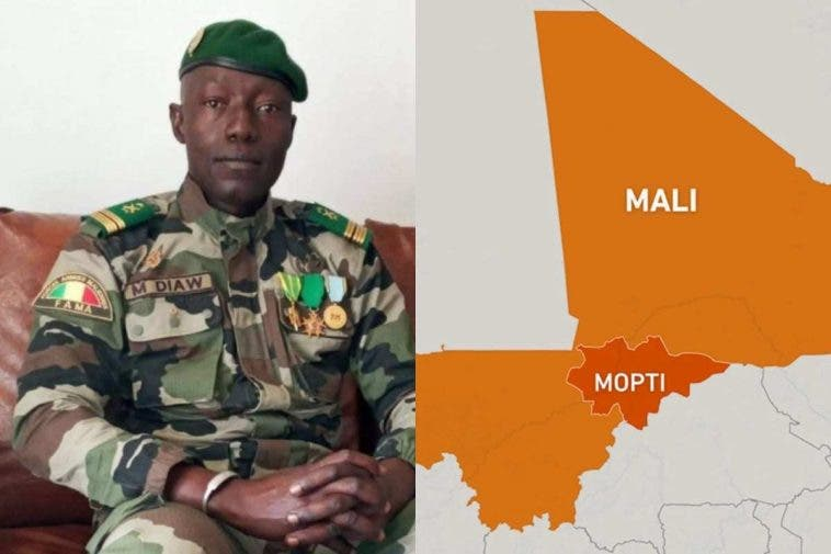 Who is Colonel Malick Diaw? 1