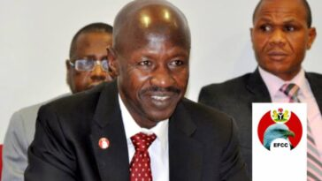 "Magu Reacts As Businessman Reveals How His ""EFCC Boys"" Demanded N75 Million bribe 5"