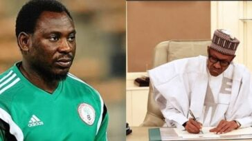 President Buhari Gives New Appointment To Former Super Eagles Striker, Daniel Amokachi 6