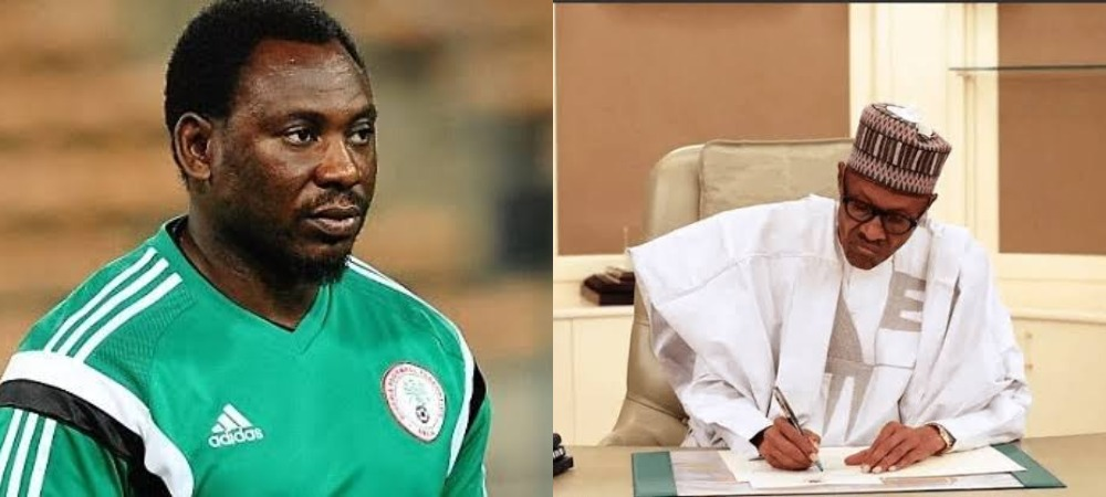 President Buhari Gives New Appointment To Former Super Eagles Striker, Daniel Amokachi 1