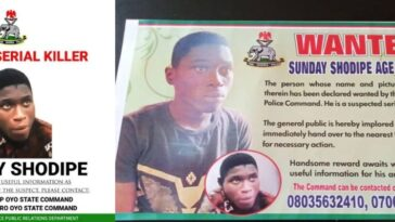 Police Places N500,000 Bounty On Suspected Serial Killer Who Escaped Prison, Sunday Shodipe 6
