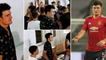 Manchester United Captain, Harry Maguire Arrested For 'Attacking Police After A Fight' In Greece 4