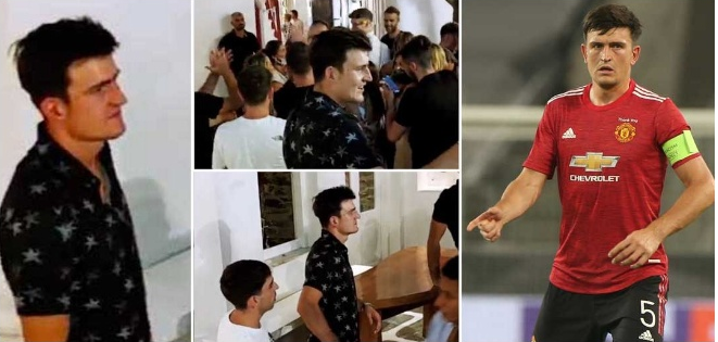 Manchester United Captain, Harry Maguire Arrested For 'Attacking Police After A Fight' In Greece 1