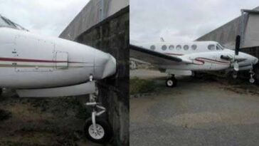 Jet Fails Brake, Crashes Into Fence At Murtala Muhammed International Airport, Lagos.[Photos] 2