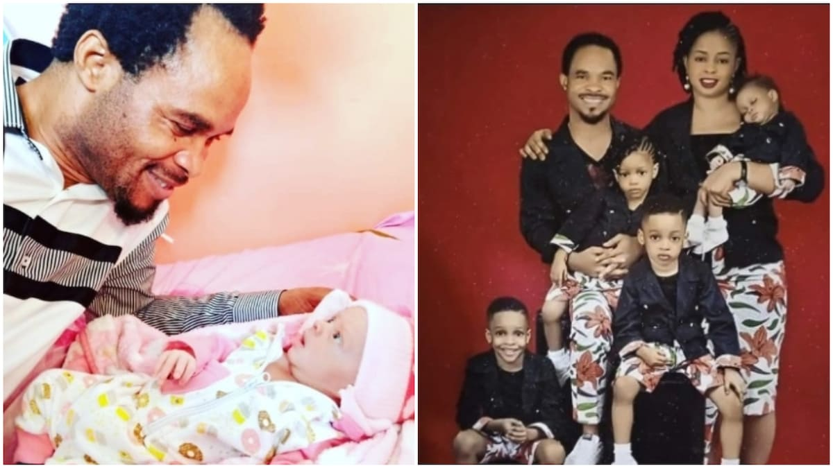 Prophet Odumeje 'Indaboski' And His Wife Welcomes Fifth Child Referred To As 'Baby 5G' 1