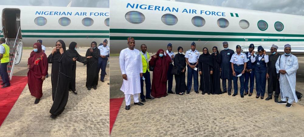 Aisha Buhari Escapes Plane Crash While Returning To Nigeria After Medical Trip In Dubai 1