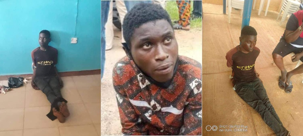 Oyo Suspected Serial Killer, Sunday Shodipe Has Been Re-Arrested After Escaping Police Custody 1
