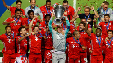 Bayern Munich Win Sixth Champions League As Kingsley Coman Goal Leaves Neymar In Tears 12