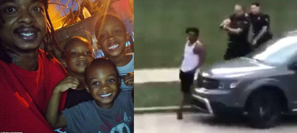Jacob Blake: White Police Officer Shoots Black Man Seven Times In Front Of His Children [Video] 1