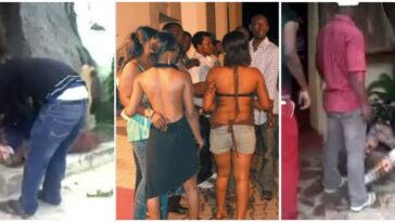 Prostitutes Reportedly Beats Pastor To Stupor For Preaching To Them At Their Brothel In Lagos 3