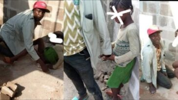 Security Man Caught Redhanded Defiling 8-Year-Old Pastor's Daughter In Delta State [Photos] 3