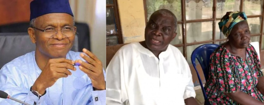 85-Year-Old Retired Soldier Gives Governor El-Rufai 24-Hour To Repair His Demolished House 1