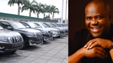 AGAIN! Governor Wike Buys 15 Multi-Million Naira Prado Jeeps For Rivers' Federal Lawmakers 12