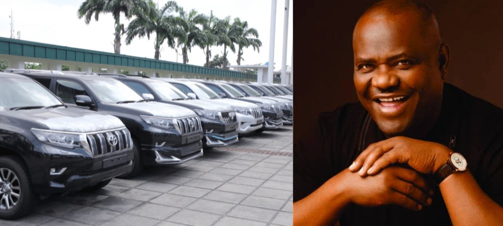 AGAIN! Governor Wike Buys 15 Multi-Million Naira Prado Jeeps For Rivers' Federal Lawmakers 1