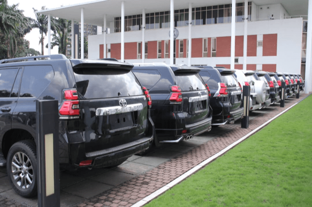 AGAIN! Governor Wike Buys 15 Multi-Million Naira Prado Jeeps For Rivers' Federal Lawmakers 3
