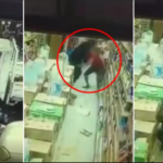 Nigerian Man Slashed With Machete By 3 Other Nigerians Inside Malaysian Store - VIDEO 28