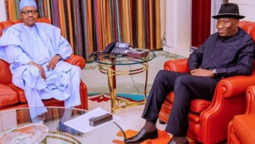 President Buhari Receives Briefing From Jonathan, Says He Wants Terrorists Out Of Mali 2