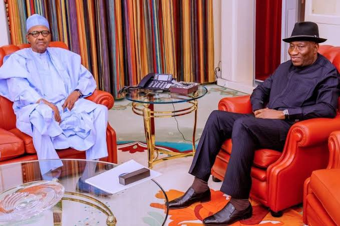 President Buhari Receives Briefing From Jonathan, Says He Wants Terrorists Out Of Mali 1