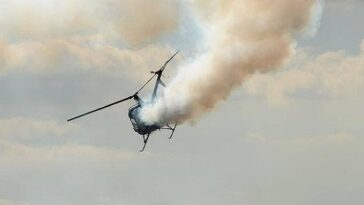 Helicopter crashes into residential building in Opebi Lagos - BREAKING NEWS 4