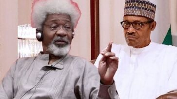 Buhari's Govt Planning To Sneak Back 'Rejected Water Bill' Into National Assembly - Wole Soyinka 4